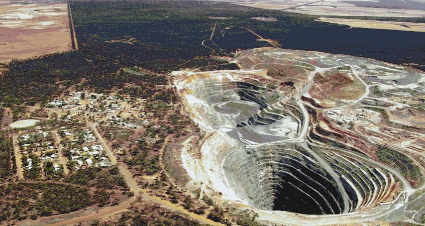 Abbau von Lithium in Australien