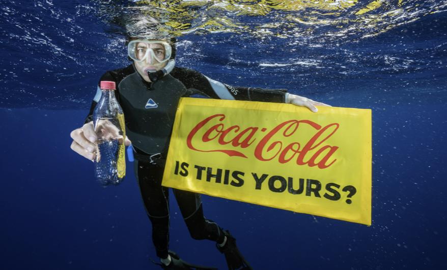 Coca Cola Abfall.breakfreefromplastic