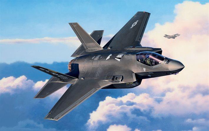 US-Jagdbombers F-35 von Lockheed