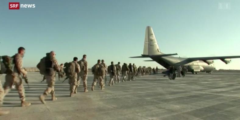 Abzug der NATO-Truppen