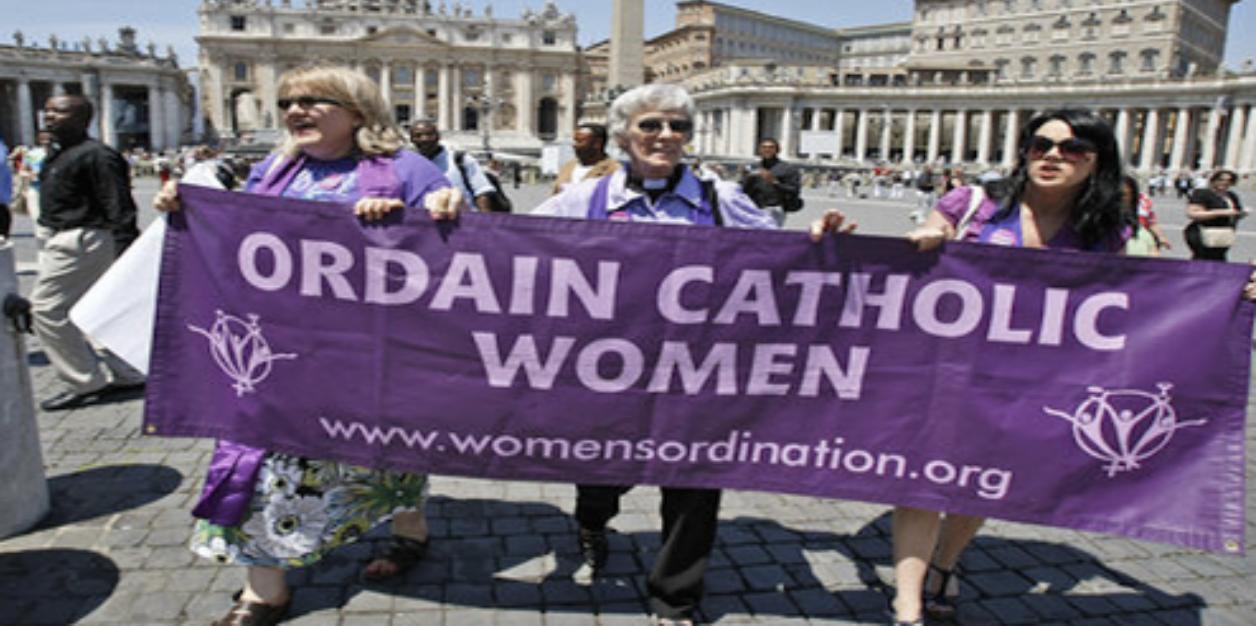 Frauen Weihe Priesterinnen.