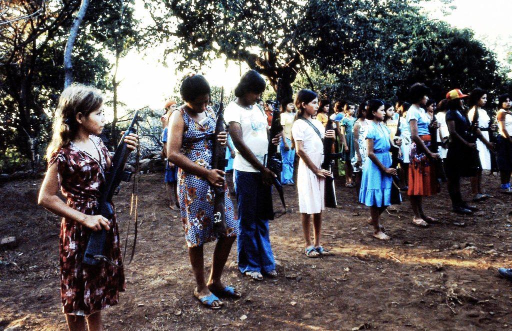 Usulutan, Guerilla, Kopie exerzi eren 1, März 1982