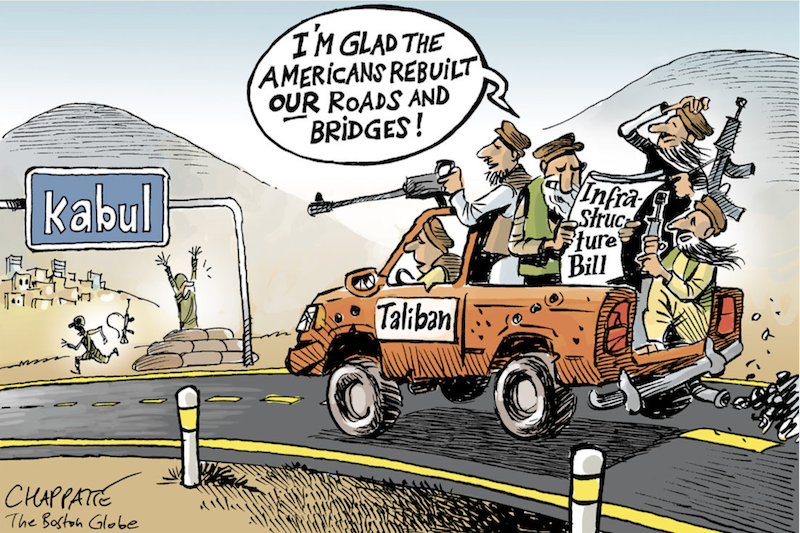 Chappatte Afghanistan