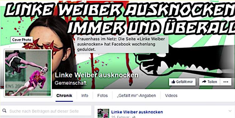 Frauenhass Facebook