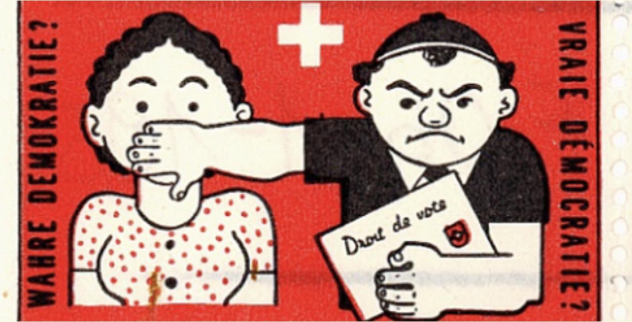 Frauenstimmrecht.Plakat.Nationalmuseum