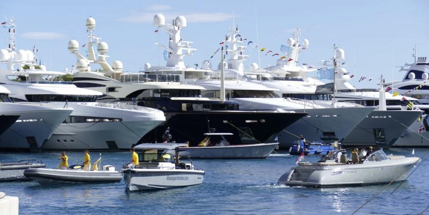 Yacht-Messe in Monaco