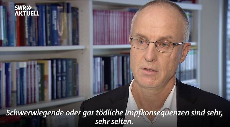 Professor Peter Schirmacher im SWR