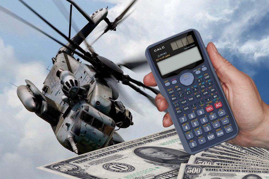 Die US-Kriegskasse wächst mal wieder